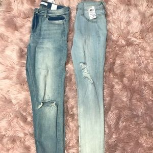 Two pairs of size 7 jeans from Windsor's NWT